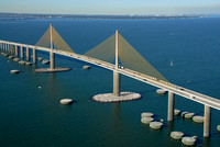 "Aerial, Aerial, Aerial, Architecture, Buildings, City, City, City-scape, Downtown, Downtown, Photo, Photography, Skyline, Tampa, Tampa, boat, bridges, cruise, ship, ""skyway bridge"", ""sunshine skyway"","