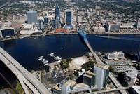 "downtown, jacksonville, city, skyline, waterway, water, boating, bridges, ""city aerial"", ""downtown aerial"", ""florida cities"", jax, buildings, ""florida downtown buildings"", waterfront, ""florida lifesty"